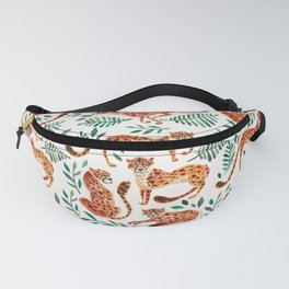 Cheetah Collection – Orange & Green Palette Fanny Pack