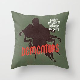 Dementors Throw Pillow