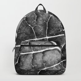 LEAF STRUCTURE no2b BLACK AND WHITE Backpack