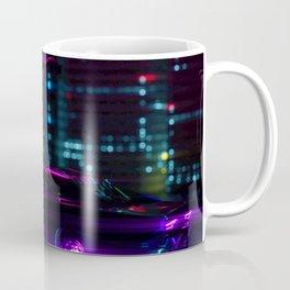 Neon City Night Coffee Mug