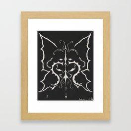 The Three Faces of Gemini Framed Art Print