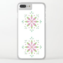 Pattern I Clear iPhone Case