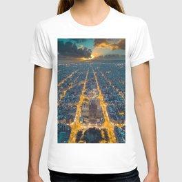 Sunset in Barcelona T-shirt