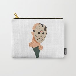 Jason Voorhees peeping Carry-All Pouch