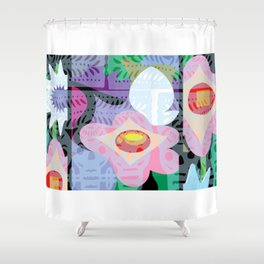 Yelapa Jungle Shower Curtain