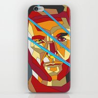 lawyer iPhone & iPod Skins featuring James Howlett by Liam Brazier