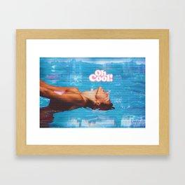 Oh Cool! 3 Framed Art Print