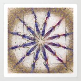 Suprasoriferous In The Raw Flowers  ID:16165-143630-08961 Art Print