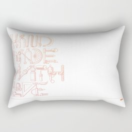 Hand Made With Love Rectangular Pillow