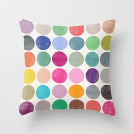 colorplay 17 Throw Pillow