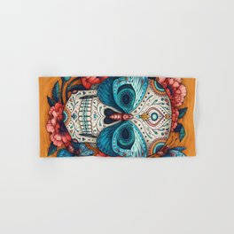 Day of the Dead Hand & Bath Towel