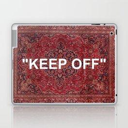 """keep off"" antique persian rug Laptop & iPad Skin"