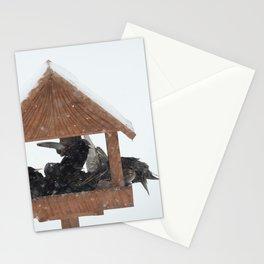 Birds survival Stationery Cards