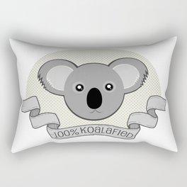100% Koalafied Rectangular Pillow