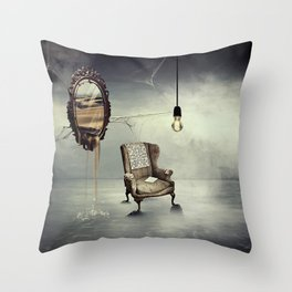 Reflection of truth Throw Pillow