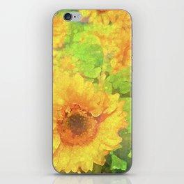 Sunflower 19 iPhone Skin