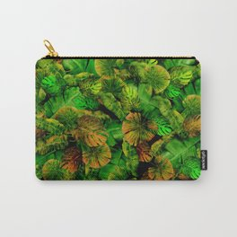 Tropical leaf random pattern painting iPhone 4 4s 5 5c 6 7, pillow case, mugs and tshirt Carry-All Pouch