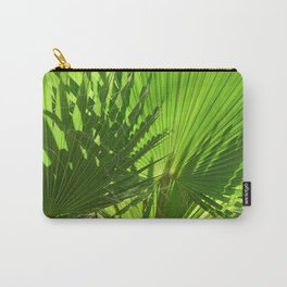 Shades of Palm Leaves Carry-All Pouch
