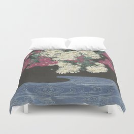 The beauty already there.  Duvet Cover