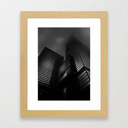 Downtown Toronto Fogfest No 15 Framed Art Print