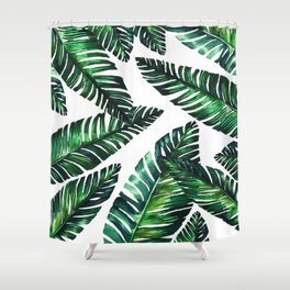 Live tropical II Shower Curtain