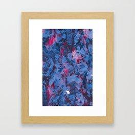 Abstract Hiraeth Framed Art Print