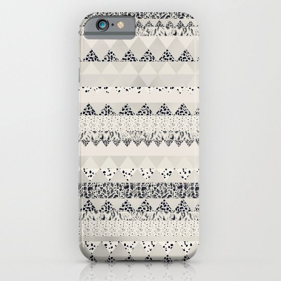 MONOTONE  GEOMETRIC ANIMAL PRINT  iPhone & iPod Case