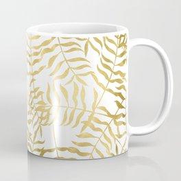 Gold Leaves 2 Coffee Mug