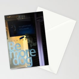 Be More Dog Stationery Cards