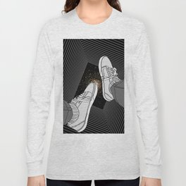 FALLING INTO THE SPACE Long Sleeve T-shirt