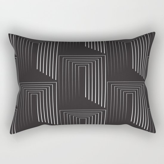 Temple Entrance Rectangular Pillow
