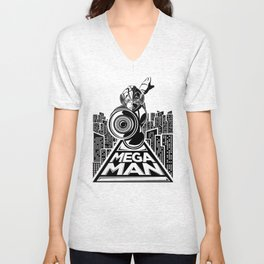 Megaman. In the year 20xx Unisex V-Neck