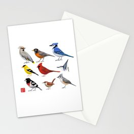 Year of the Bird II. Stationery Cards