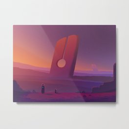 PHAZED PixelArt 7 Metal Print