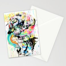 Ink Fight Colors Stationery Cards