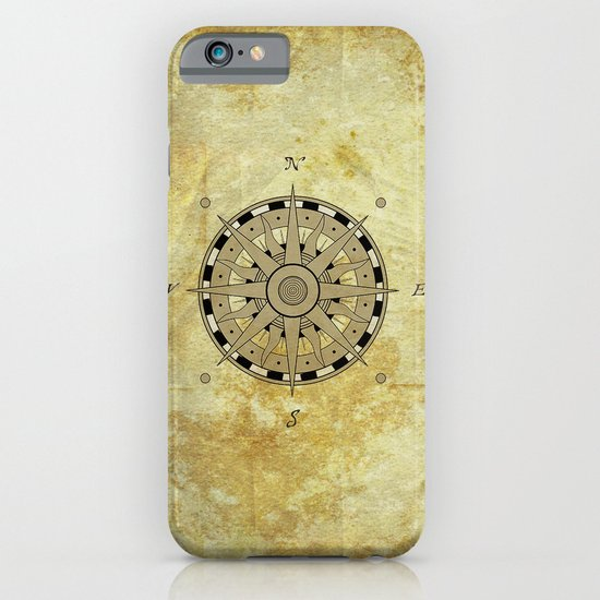 Compass Rose iPhone & iPod Case