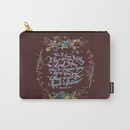 Give You Hope - Jeremiah 29:11 Carry-All Pouch