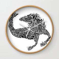 Hippocampus Wall Clock