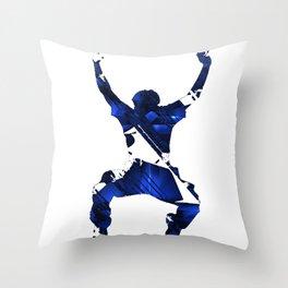 More Than a Conqueror Throw Pillow