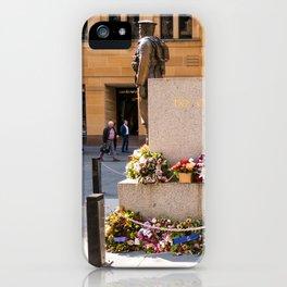 """Lest We Forget"" Sydney Cenotaph iPhone Case"
