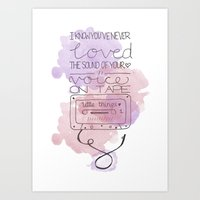 All These Little Things Art Print