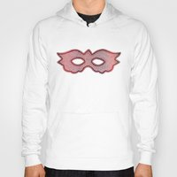mask Hoodies featuring Mask by Bluishmuse