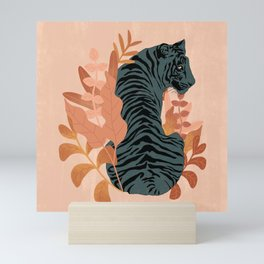 Blooming Tiger Mini Art Print