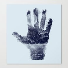 High five world Canvas Print