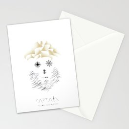 Captain  | The world inside your head Stationery Cards