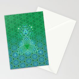 Lifeforms | Sacred geometry Stationery Cards
