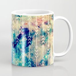 Galaxy Arrows Coffee Mug