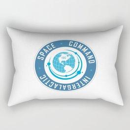 Intergalactic Space Command Logo 2 Rectangular Pillow