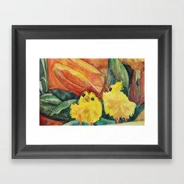 Great Chicks Framed Art Print