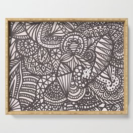 Doodle 10 Serving Tray